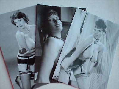 MARGARET MIDDLETON STOCKINGS SET 10 PHOTOS 6 X 4 REPRINT NUDE GLAMOUR PIN UP 60s