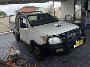 2006 Toyota Hilux Sr 5 Sp Manual C/chas