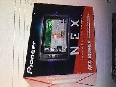 PIONEER BRAND - MODEL # AVIC-5200NEX  - INDASH AM/FM/CD/DVD=NAVIGATION RECEIVER