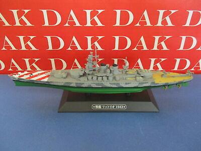 Die cast 1/1100 Modellino Nave Ship Corazzata Battleship Littorio Italy 1943
