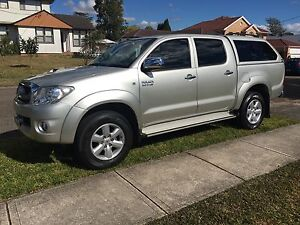 2010 Toyota Hilux SR5 4x4 Marsfield Ryde Area Preview