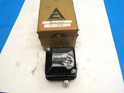 Vintage Allis Chalmer-delco Remy Voltage Regulator 6vt 228365