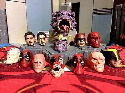 Marvel Legends / Select head cast custom paint / fitting service's (per 1 head)