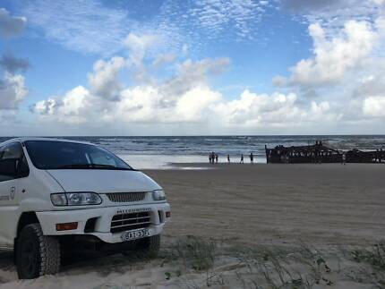 1999 Mitsubishi Delica Chamonix 8 seat 4x4 READY TO GO Port Macquarie Port Macquarie City Preview