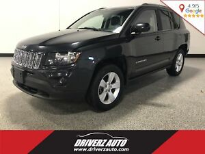 2014 Jeep Compass Sport/North CLEAN CARPROOF, 4X4, FOG LIGHTS