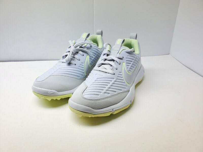 Nike Explorer 2 Women's Golf Shoes Platinum/Volt AA1846-001 Spikeless Sz 8
