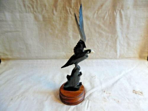 Bird Raven Crow Blackbird Made From Horn From India