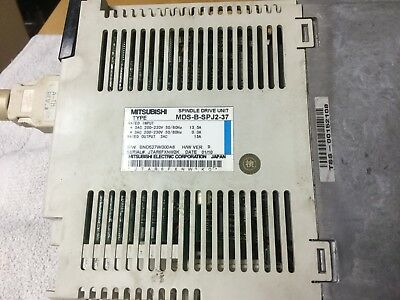 Mitsubishi Mds-b-svj2-06 Servo Drive Amplifier Unit Used