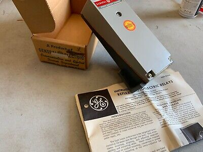 Ge 3s7505ps511d6 Reflex Photoelectric Relay Nos