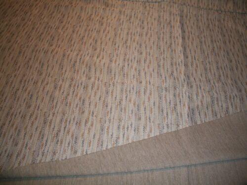 Vintage Double Knit Beige Patterned Material 2 Yds