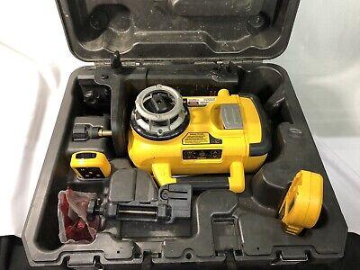 Dewalt Dw079 Self Leveling Rotary Laser Kit 18v Indoor Exterior