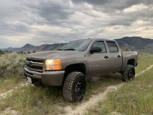 Chevy Silverado Lifted Truck