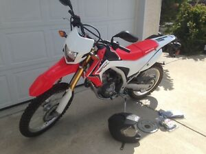 Crf250l Honda with only 845km