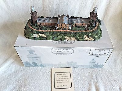 Harbour Lights Lighthouse Navesink New Jersey Twin Lights with COA & Box