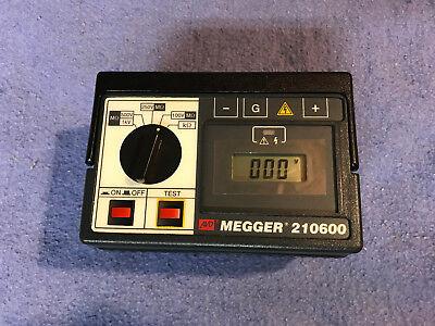 Avo Megger 210600 Extended Range Digital Insulation Resistance Tester