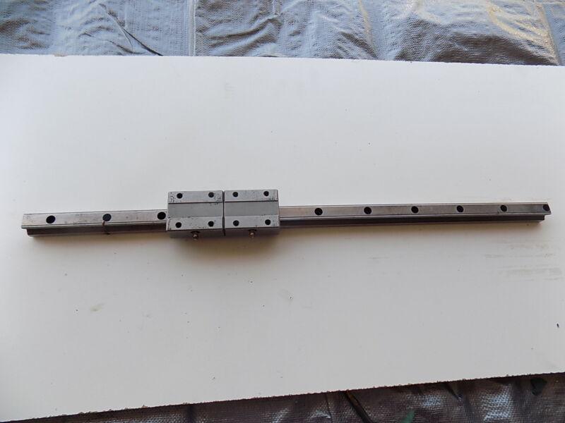 ROUNTER CNC LINEAR ACTUATOR slide rail 24 in long THK20TBA bearing block A6