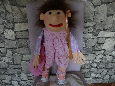 Kinder - kleine Handpuppe ca. 60 cm - Mädchen- (Spielzeug Für Kleine Mädchen)
