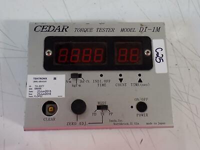 Cedar Torque Tester Wremote Sensor  Di-1m-200
