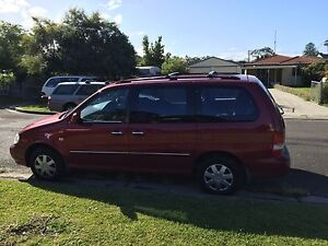 *** 7 seater KIA Carnival *** Low Kms very reliable family car Cardiff Lake Macquarie Area Preview