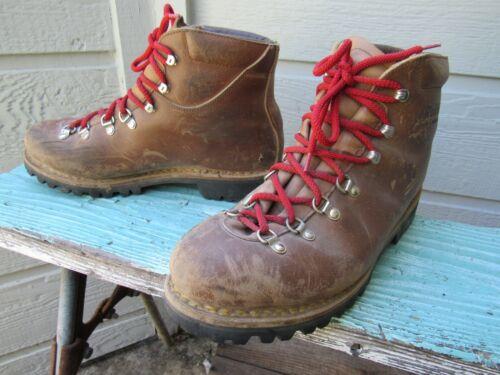 Vtg Raichle Swiss Alpine Mountaineering Boots Men