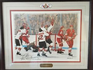 Framed Hockey Picture