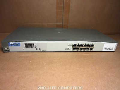 HP J3294A PROCURVE HUB 12 10/100 12 ports Ethernet Network Hub