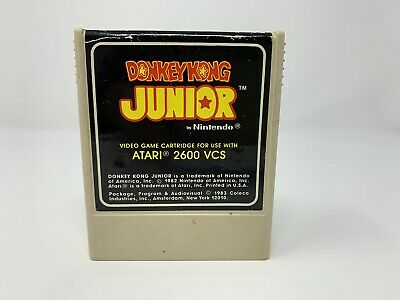 Donkey Kong Junior - Atari 2600 - Game Cart only - VINTAGE - COLECO