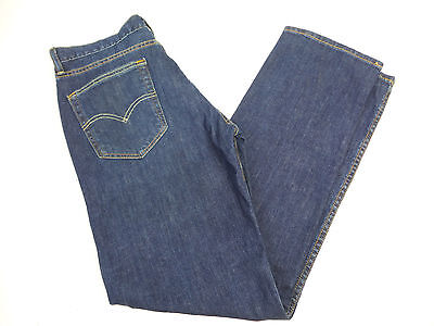 Levi Mens 514 Straight Fit Jeans Dark Blue Wash US Size 32x30 NWT