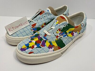 Vans Era Save Our Planet Globe World Map Men's Size 10