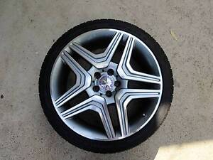 """Mercedes Benz As New Wheels Tyres Rims AMG Merc 20"""" Inch Revesby Bankstown Area Preview"""