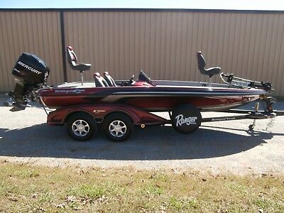 2011 RANGER COMANCHE BASS BOAT Z-520 !!  250 MERCURY OPTIMAX  ONLY 56 HOURS !!