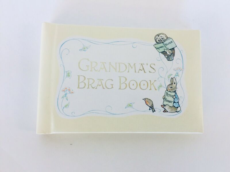 Vintage Beatrix Potter Grandma's Brag Book 1976