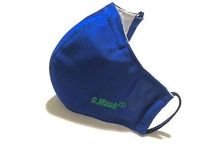 Face Mask Gmask-Royal Blue with Washable BFE 95 Activated Carbon Filter
