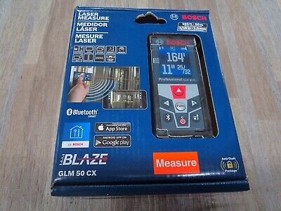 Bosch - GLM 50 CX 165ft Laser Measure Bluetooth Smart
