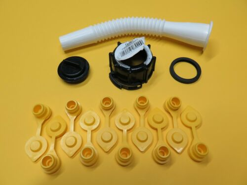 MIDWEST Gas Can Spout & Parts Kit (10 FREE YELLOW VENT CAPS) Fuel Gallon Diesel