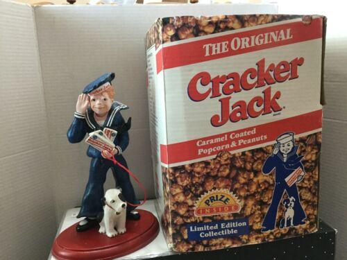 RARE 1997  Cracker Jack Sailor Boy & Bingo the Dog- Borden - Advertising Figure