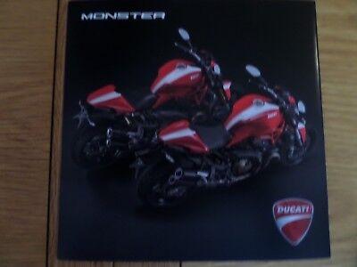 Ducati Monster Range Motorcycle Sales Brochure 2015 - 1200s - 821