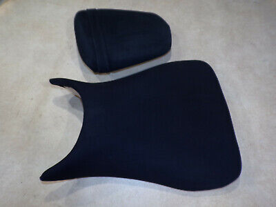 Yamaha R6 5SL 03 04 05 front & rear back pillion passenger seat seats Suede