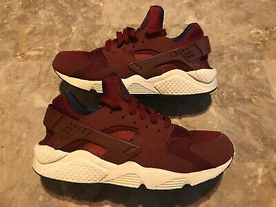 ce2cab6e94be9 2018 Nike Air Huarache Team Red Navy Trainer Running Size 8.5 (318429-608)  Used!