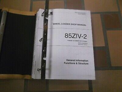 Kawasaki 85ziv-2 Wheel Loader Factory Shop Service Repair Manual