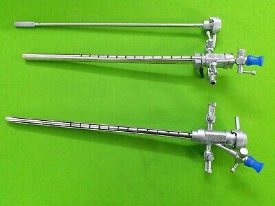 2pc Hysteroscopy Sheath 21fr Endoscopy Laparoscopic Surgical Instruments