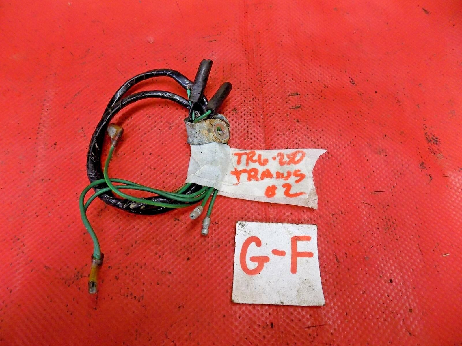 Used Triumph Tr6 Manual Transmissions And Related Parts For Sale British Leyland Radio Wiring Tr250 Transmission Harness Original 2