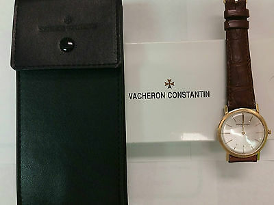 VACHERON CONSTANTIN MECHANICAL HAND WINDING IN 18KT GOLD