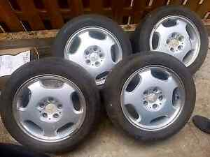 4x Mercedes E-Series wheels and tyres Paddington Brisbane North West Preview