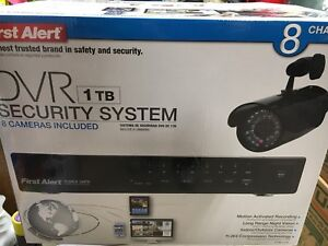 8 camera security system BRAND NEW!
