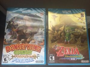 Wii U Games, New and Sealed