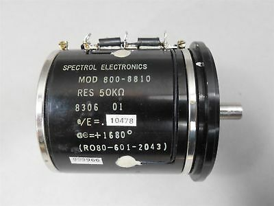 Spectrol 800-8810 Variable Wire-wound Precision Resistor New