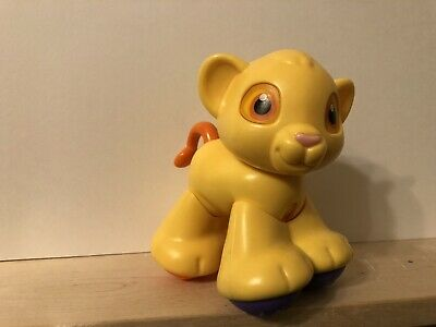 Disney Fisher Price Amazing Animals Train Lion SIMBA Preschool Toddler Toy Click