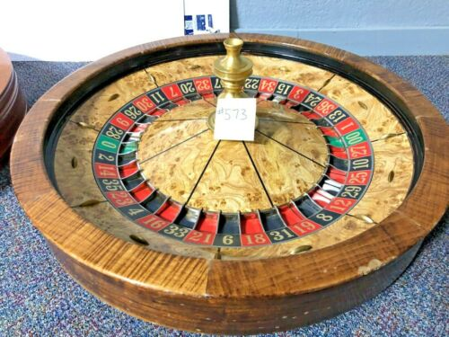 Roulette Wheel 32 Inch (Used) #573 Paulson 0/00