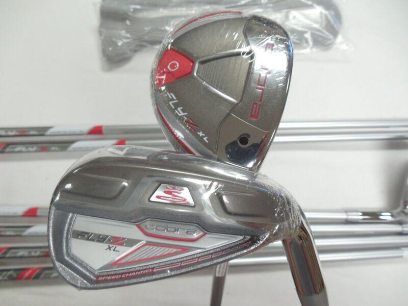 Cobra Women's Fly-Z XL Golf Iron Combo Set, Right Hand, Graphite, 4-6H, 4PWSW FLY-Z XL IRN CMB GPH WMNS 4H-6H, 7-SW RH
